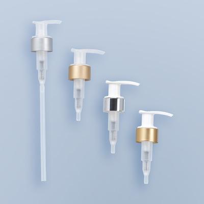 Pompe dispenser chapée GS - GSA  bague GCMI 24/410 ET 28/410