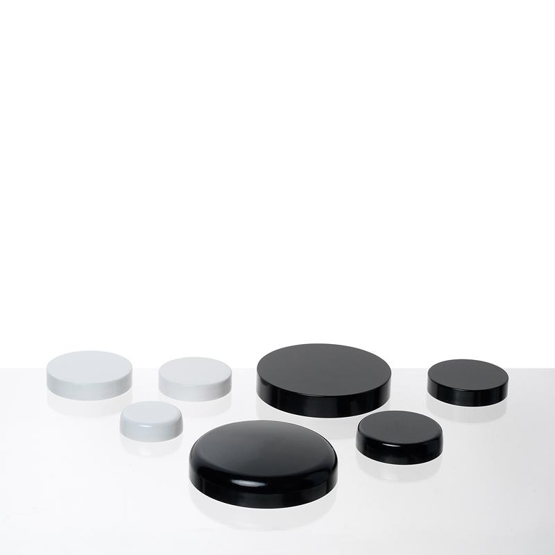 COUVERCLES thermodur bague  GCMI noir et blanc
