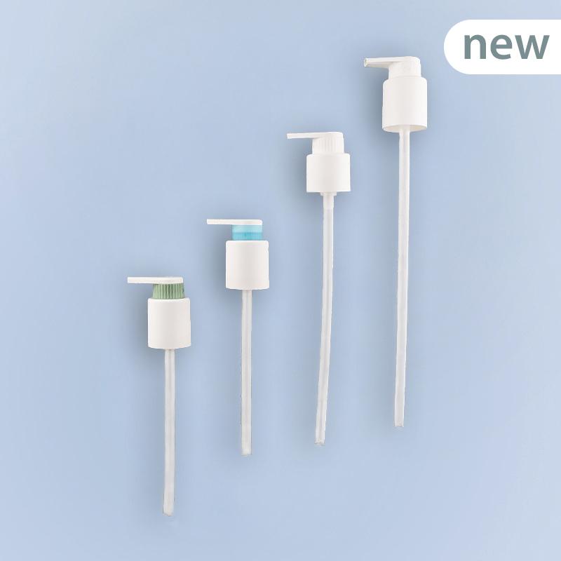 Pompe à vis Mono-matériau 100% recyclable bague 24/410, 28/400 et 28/410